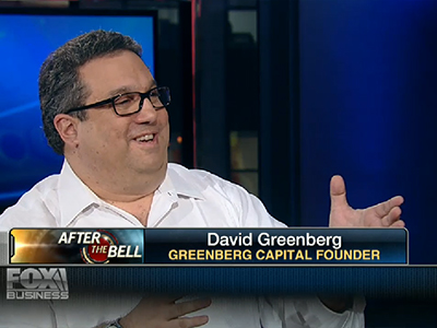 The Street Interview With David Greenberg