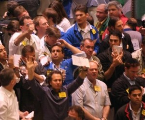 David On The Trading Floor